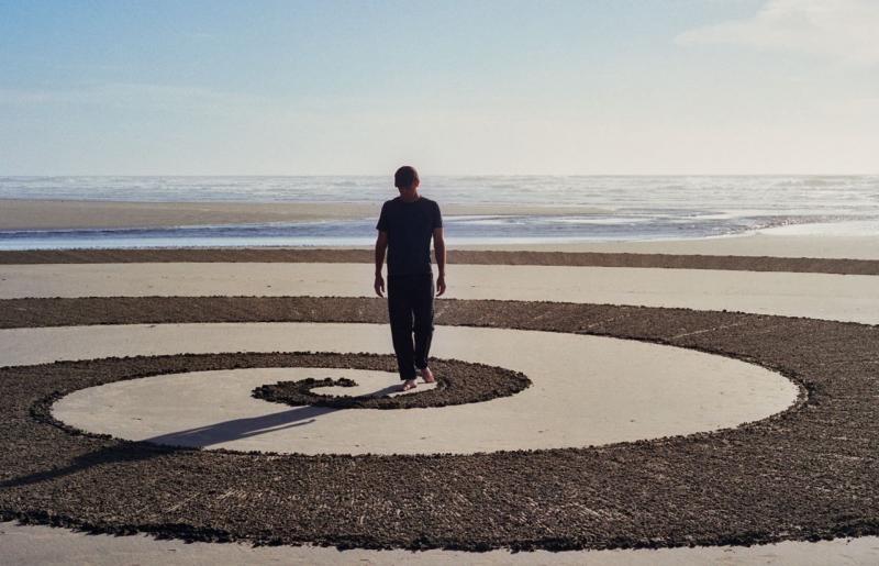 Sacred geometry spiritual sand art